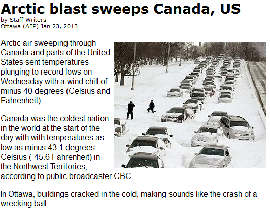 http://www.terradaily.com/reports/Arctic_blast_sweeps_Canada_US_999.html