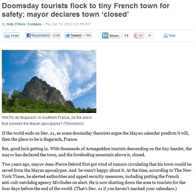 read more: http://travel.yahoo.com/blogs/compass/doomsday-tourists-flock-tiny-french-town-safety-mayor-192325499.html