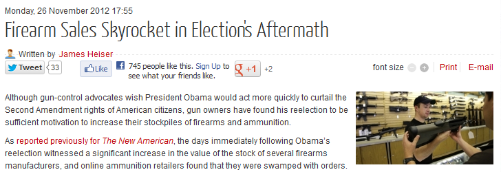 http://www.thenewamerican.com/usnews/constitution/item/13748-firearm-sales-skyrocket-in-elections-aftermath
