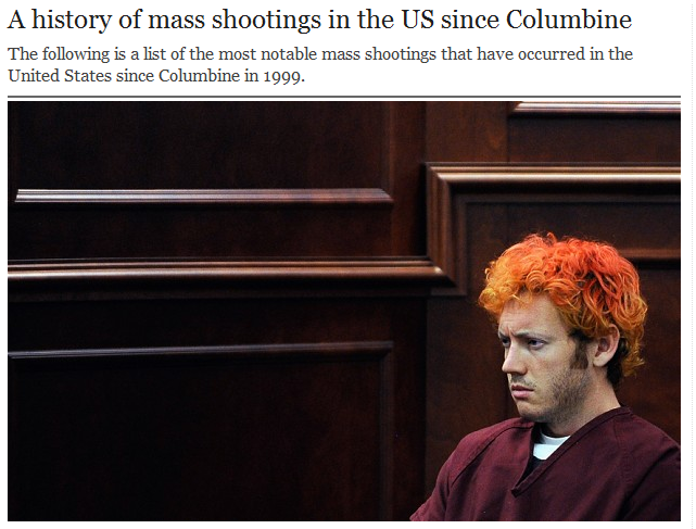 http://www.telegraph.co.uk/news/worldnews/northamerica/usa/9414540/A-history-of-mass-shootings-in-the-US-since-Columbine.html