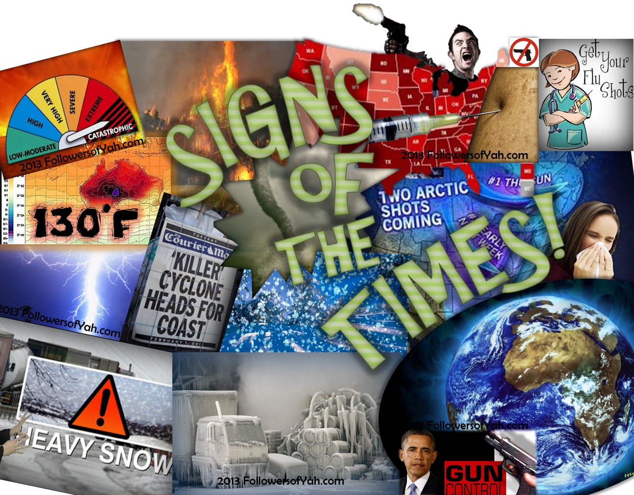 Signs of the Times | Followers of YAH Newsletter