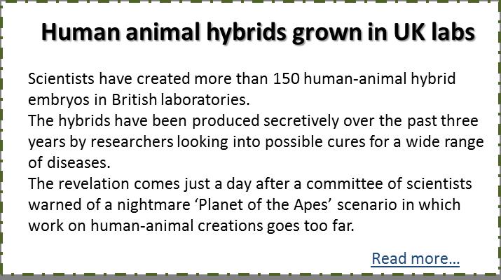 Genetic Engineering Animals Gone Wrong
